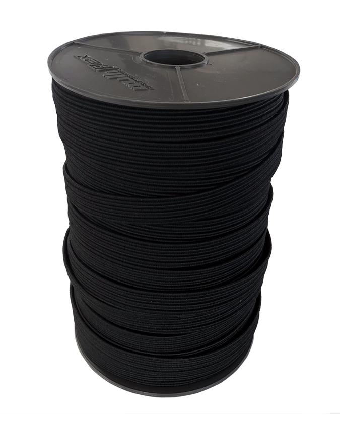 Flachbandgummi elastisch 11mm 100 Meter Rolle
