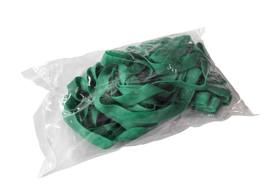 Paletten-Gummis 10 Stück extra stark Grün
