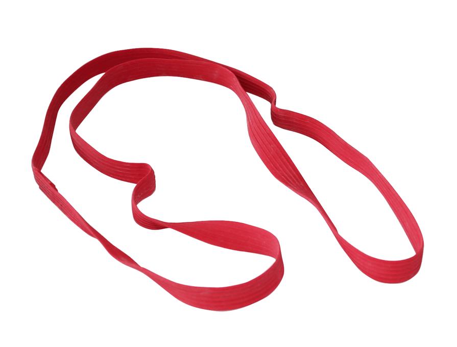 Palettengummi 1 Stück Rot - extra stark Palettenspannband
