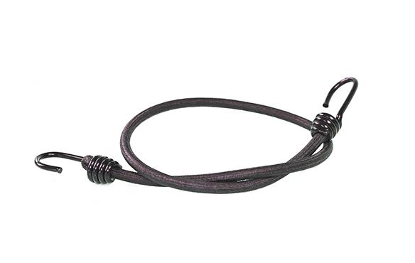 Expanderseil mit 2 Spiralhaken Ø 8mm 60cm schwarz