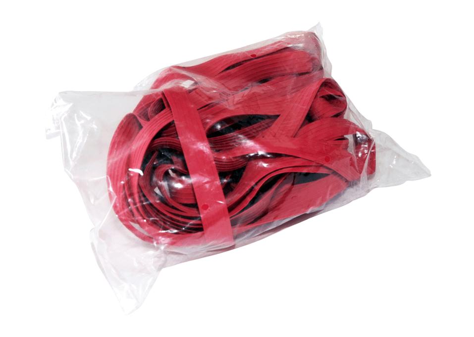 Palettenspanngummis 10 Stück Rot 22mm - extra stark