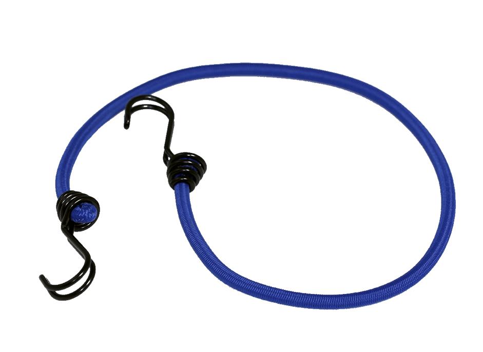 Expanderseil 80cm Blau mit 2 Doppelhaken