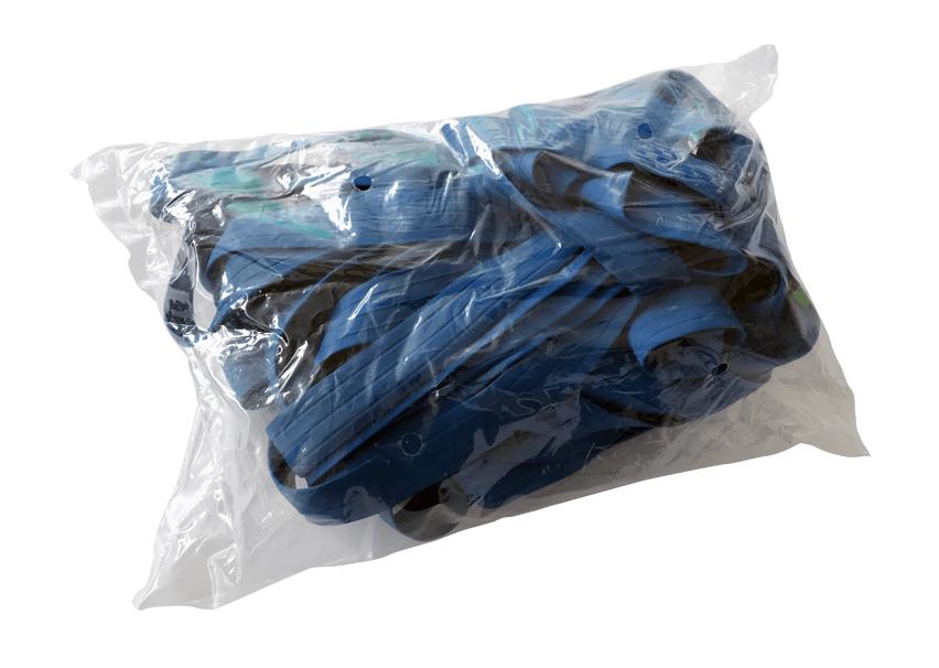 Palettengummis Blau 1010 x 800 - 25mm - extra stark