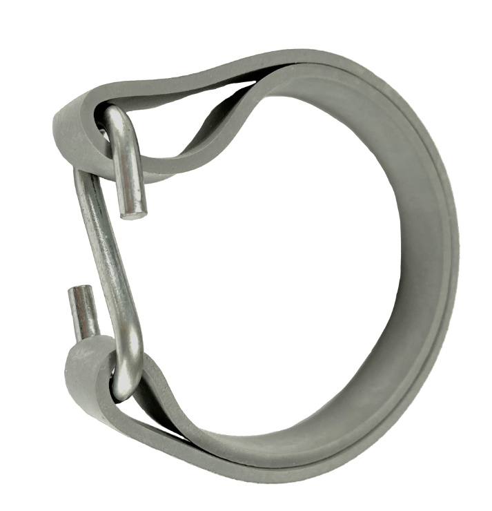 Gummiringe für Zelt u. Plane 180mm Ø 114mm Grau